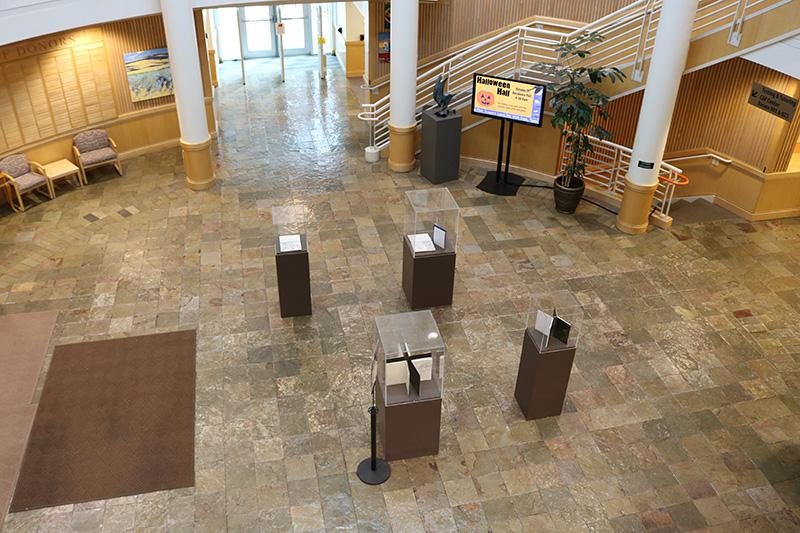Rotunda Gallery 1st Floor - From Above