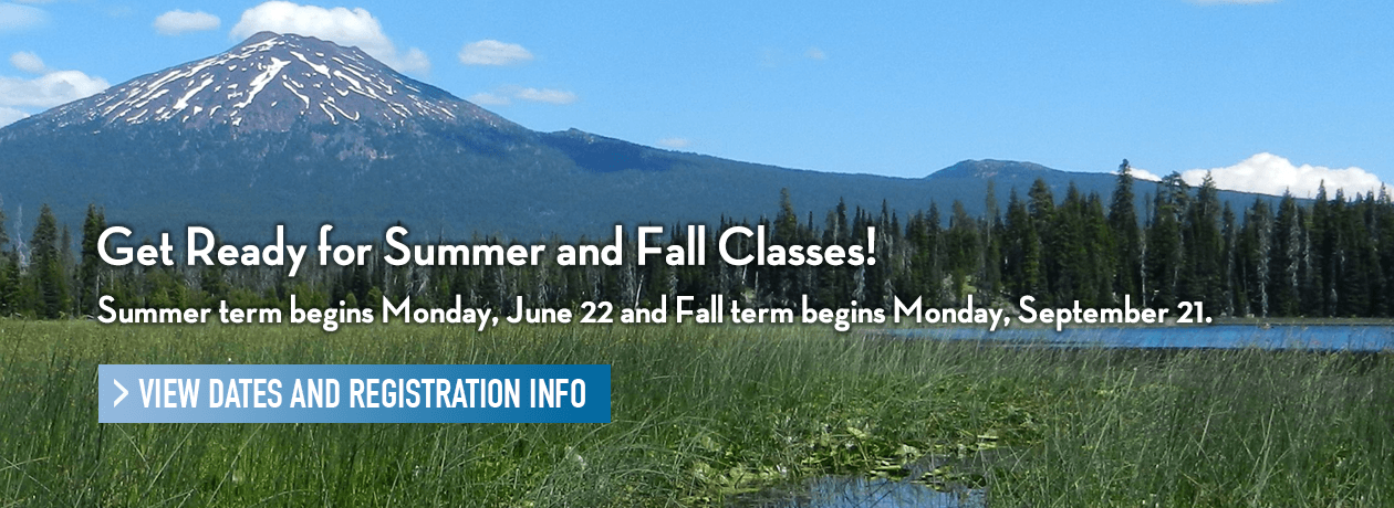 Get Ready for Summer and Fall Classes