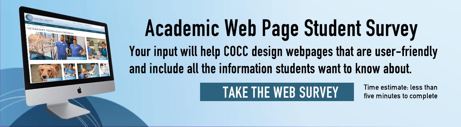Academic Web Page Survey