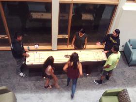 GANAS Shuffle Board Game