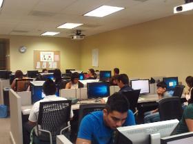 GANAS in computer classroom