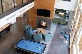 Billiards in the Lounge
