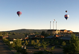 Balloons Over Bend - Old Mill, Bend Oregon