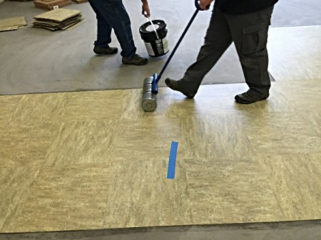 Campus Services New Floors