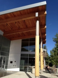 Coats Campus Center Columns