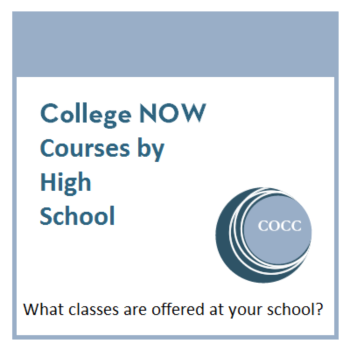 College Now Courses by High School