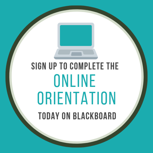 sign up for the online orientation
