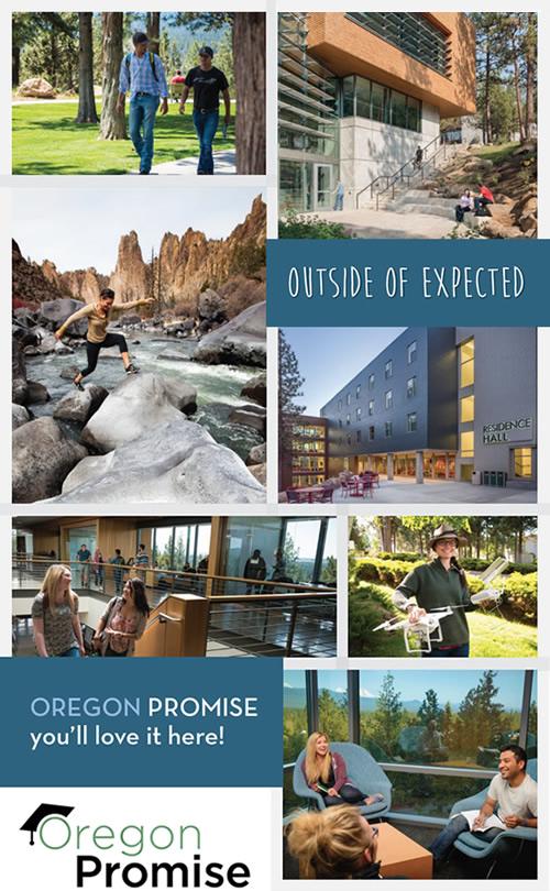 Oregon Promise Information and Photos