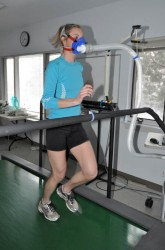 VO2max Run test at COCC Physiology Lab