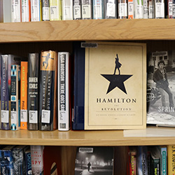 Photo of books in the Browsing section of Barber Library