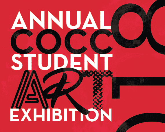 2018 Student Art Exhibition poster