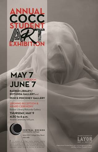 2019 Student Art Exhibition poster