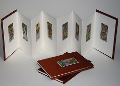 Accordian Book by Abecedarian Gallery
