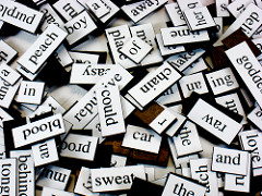 Magnetic Poetry photo by Steve Johnson
