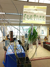 PoeTree at Barber Library