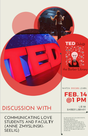 TED Club 2014-02-14 Poster