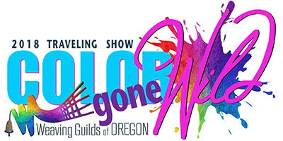 Weaving Guilds of Oregon Traveling Exhibit 2018: Color Gone Wild