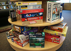 Board Games at Barber Library