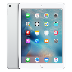 Photo of an iPad air available through Barber Library
