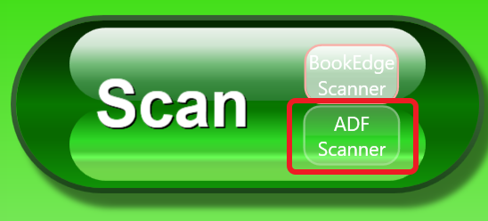 KIC Scan button with ADF selected
