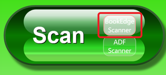 Scan button with BookEdge selected