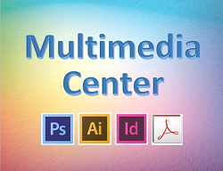 Multimedia Center Sign