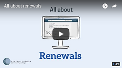 Thumbnail of the Renewals video