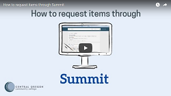Thumbnail for the How to request through Summit video