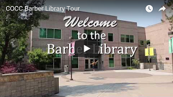 Thumbnail for the Barber Library Tour video