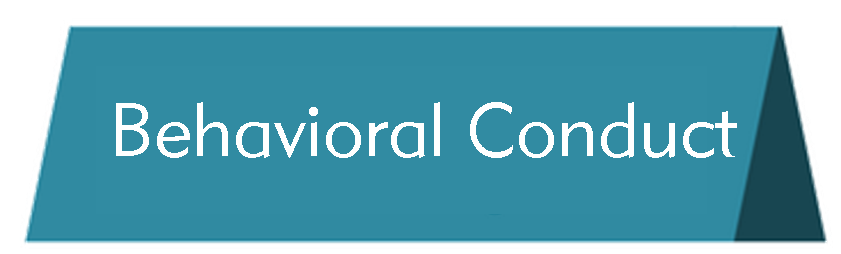 Behavioral Conduct Button