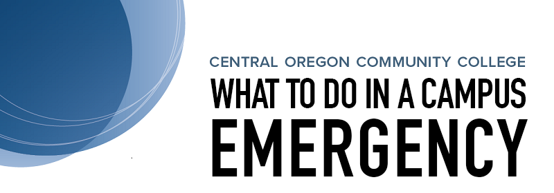 What to do in a Campus Emergency