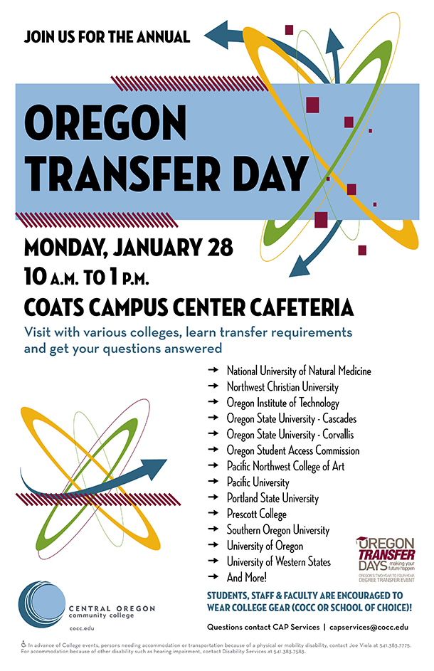 Oregon Transfer Day Poster