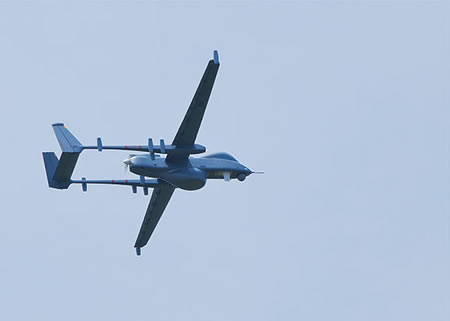 Unmanned Aerial Systems Drone