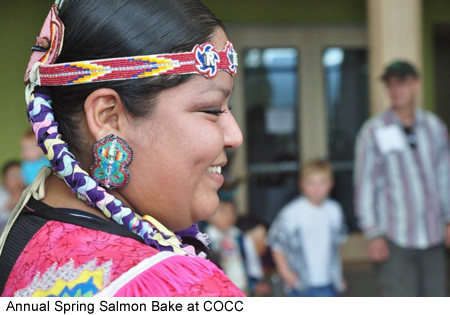 Native American Salmon Bake at COCC