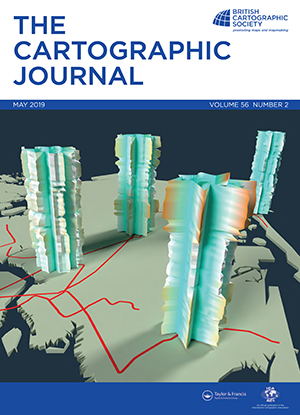 Cartographic Journal Magazine Cover