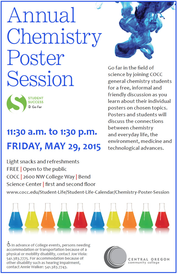 Annual Chemistry Poster Session - lg