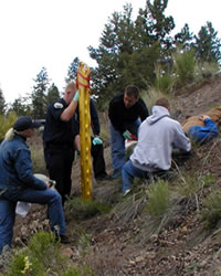 COCC EMS Incline Rescue Training