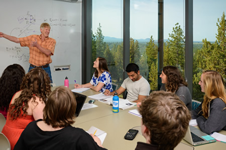 Physics Class - Science Center Group Study Room